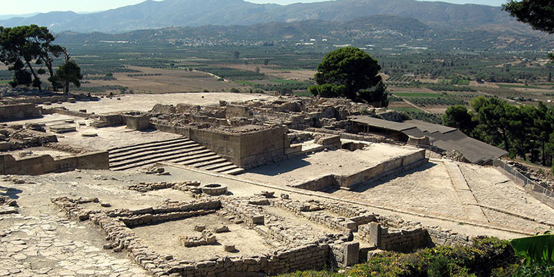 MINOAN PALACE OF PHAISTOS